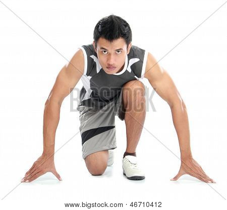 Young Sport Man