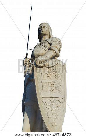 Sculpture Of Roland, Latvia, Riga