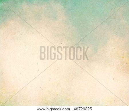 Vintage Grunge Clouds