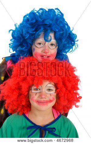 Two Funny Little Clowns
