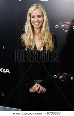 NEW YORK-JUNE 10: DC Comics president Diane Nelson attends the world premiere of