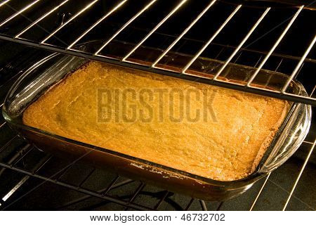 Corn Cake Or Bread In Oven