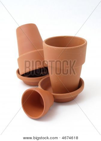 Various Flower Pots