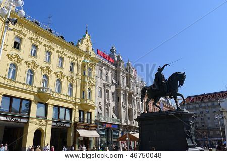 Ban Josip Jelecic Square