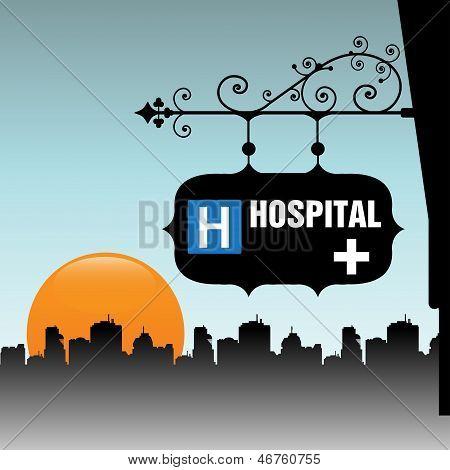 Hospital plate