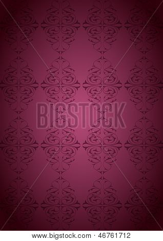 Ottoman Pattern and pink background
