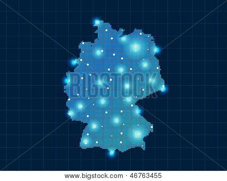 pixel Germany map