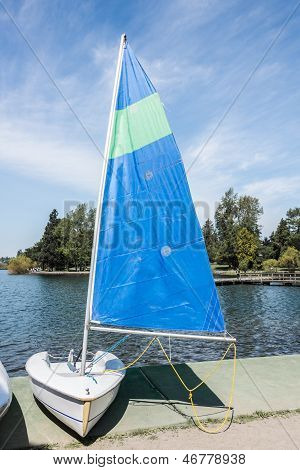 Single Person Sail Boat
