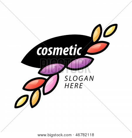 Abstract Vector creative design Of The Petals For Cosmetics