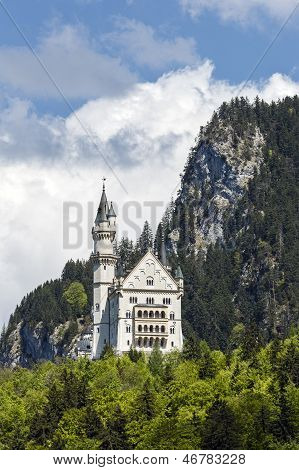 Hidden In The Mountains Neuschwanstein Castle