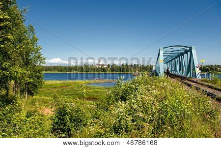 Railway Bridge across Torne River