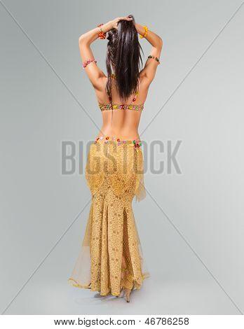 Beautiful Belly Dancer Woman