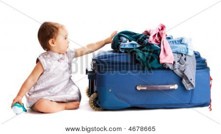 Suitcase Baby