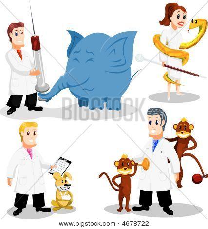 Vectores y fotos en stock de Veterinarios de dibujos animados ...