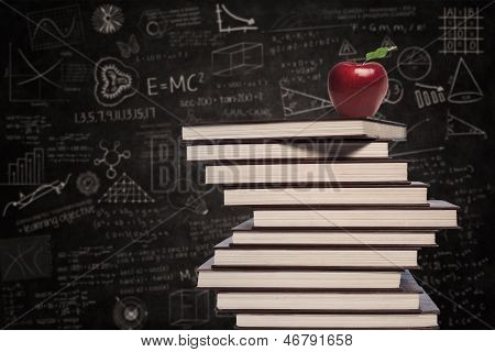 Apple And Education Books In Class