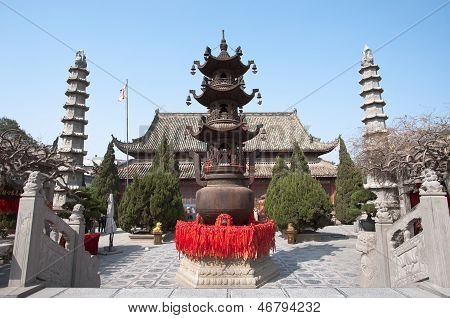 Templo do ministro-chefe, Kaifeng, China