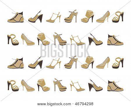 fashion footwear pattern