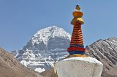 stock photo of jainism  - Buddhistic stupas  - JPG