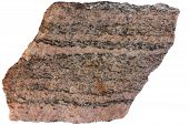 picture of feldspar  - Gneiss from Karelia - JPG