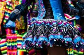 pic of parade  - Peruvian dancers at the parade in Cusco - JPG