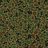 image of khakis  - vector abstract background with military summer camouflage pattern - JPG