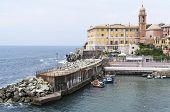 picture of genova  - genova nervi a beautiful village near genova - JPG