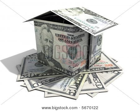 Fifty Usd Note House