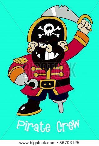 Pirate Crew Captain.