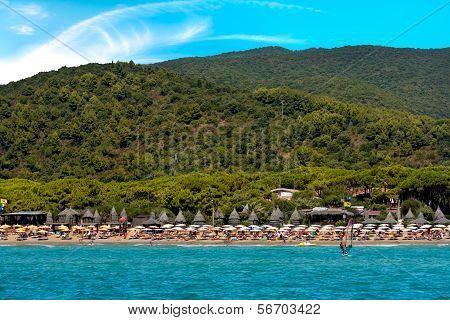 Lido Beach, Golfo Stella, Elba Island