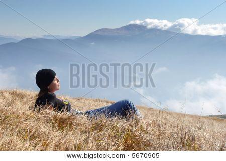 Girl Relax