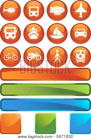 Travel Orange Set