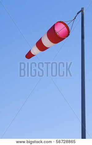 manga wind flying on a blue sky