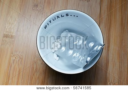 Bowl With Drugs