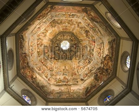 The Florence Duomo Ceiling