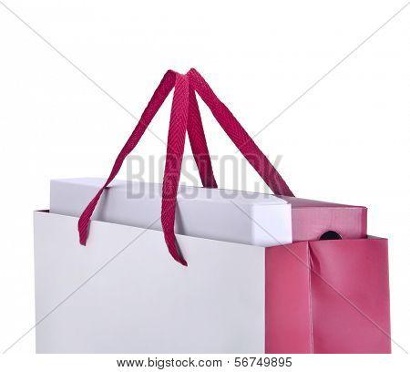 shopping bag isolated over white background
