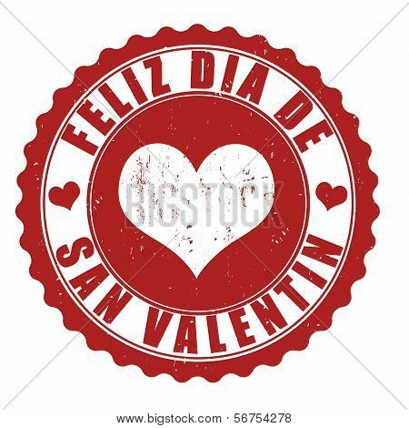Happy Valentine's Day Stamp