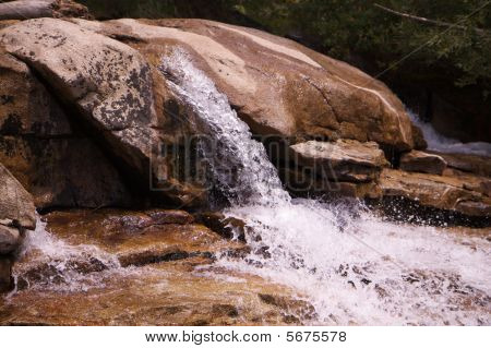 Small Sierra Waterfall