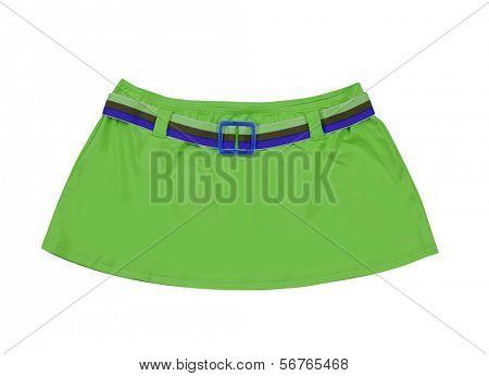 Minifalda Verde