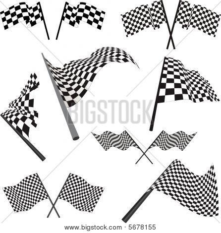 Racing Flags Set