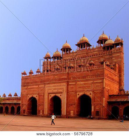Gate Buland Darwaza, Fatehpur Sikri, Agra, India