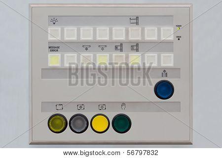 Operator Control Panel