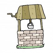 foto of wishing-well  - cartoon wishing well - JPG