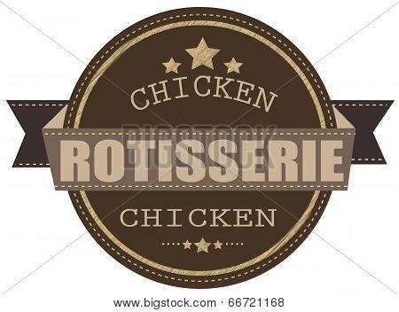 Rotisserie Chicken Stamp
