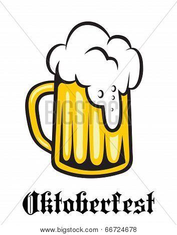 Oktoberfest emblem, poster or label
