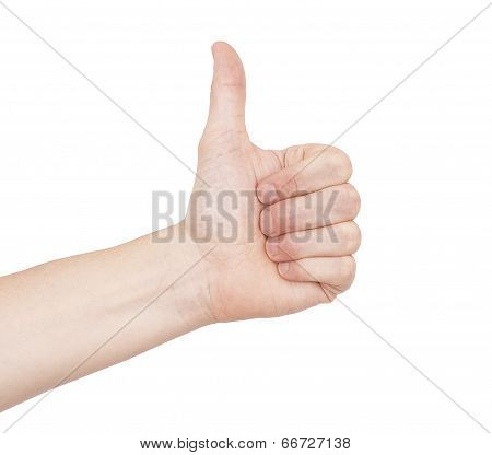 Thumbs Up Vote - Like