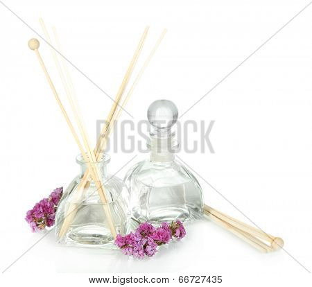 Aromatic sticks for home isolated on white