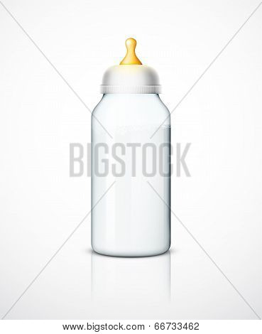 Milk Bottle With Nipple