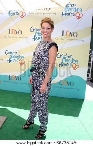 LOS ANGELES - JUN 14:  Candace Cameron Bure at the Children Mending Hearts 6th Annual Fundraiser at Private Estate on June 14, 2014 in Beverly Hills, CA