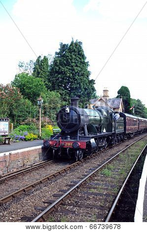 Steam train, Hampton Loade.