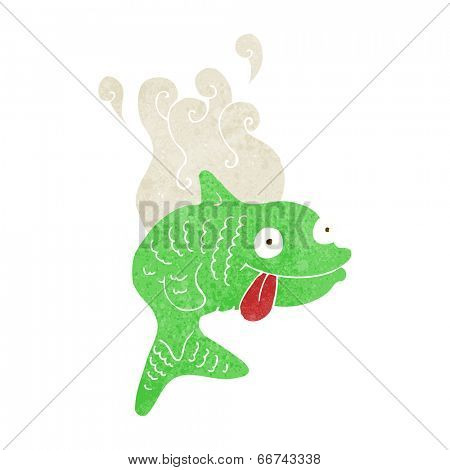 cartoon smelly fish